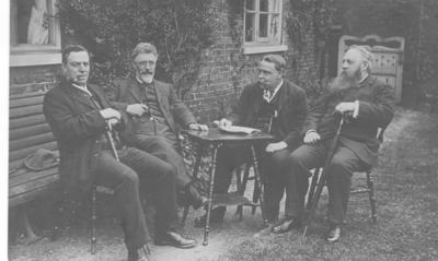 Burnley's Dan Irving, and H. M