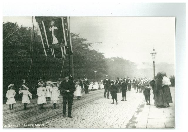 All Saints Banner 1908