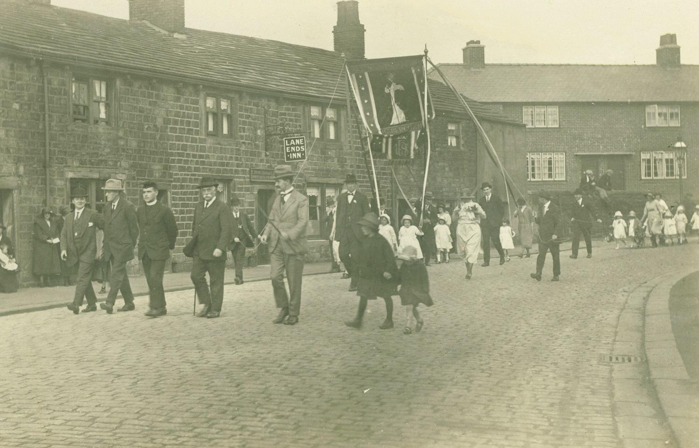 Walking Day at All Saints' Church, Burnley small